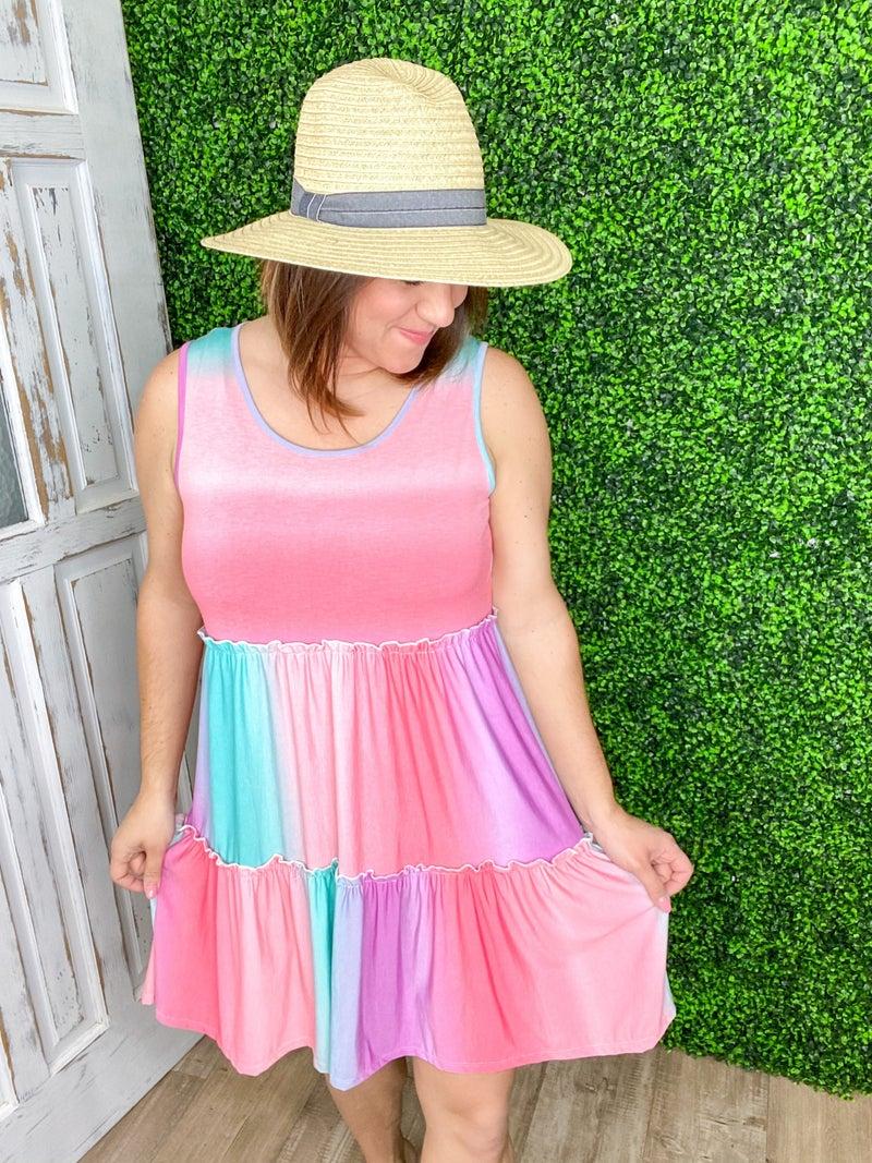 Colorful Tank Dress