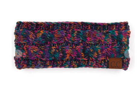 C.C Ribbed Knit Headband