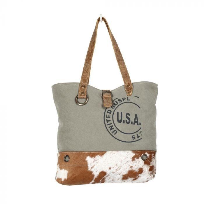 Myra Bag - USA Stamp Tote Bag