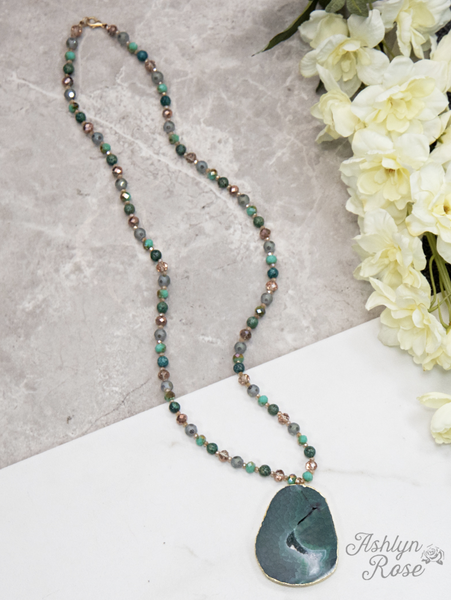 Nature's Beauty Emerald Green