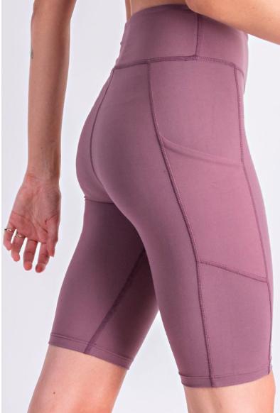 Biker Shorts With Pockets