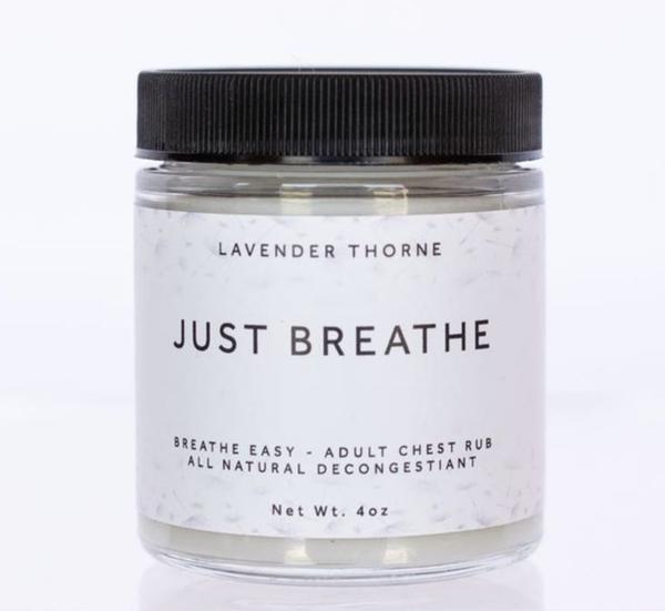 JUST BREATHE (Adult Chest Rub & Decongestant)