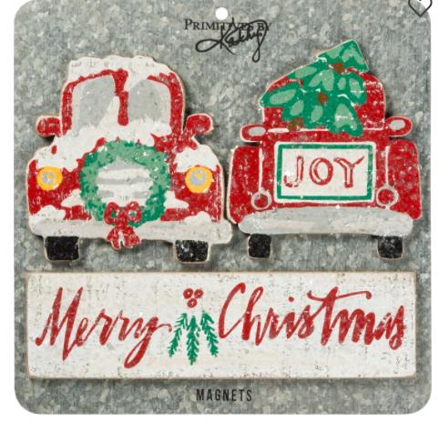 Magnet Set - Merry Christmas