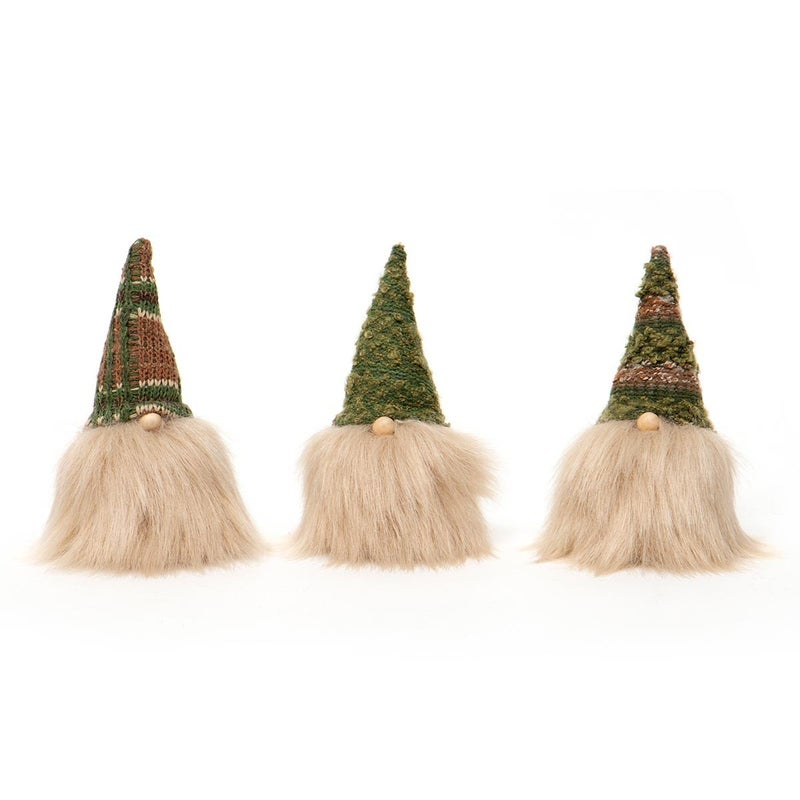 """Gnome 6.5"""" Cousin Beige Beard (3 Assorted)"""