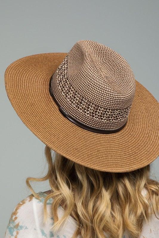 Woven Panama Hat (three colors)