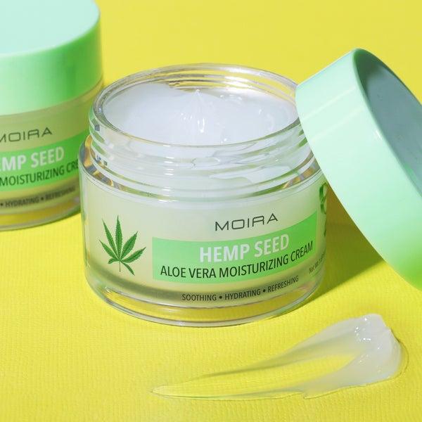 Hemp Seed Aloe Vera Moisturizing Cream