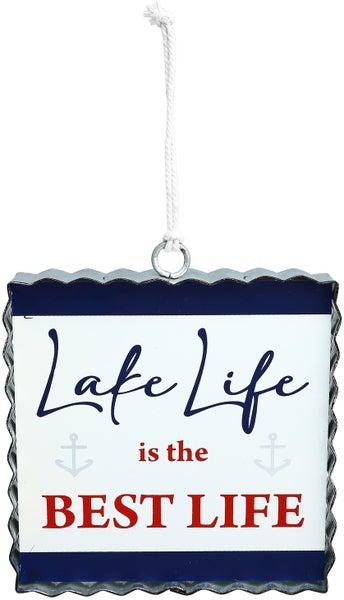 "Lake Life - 6"" Plaque"