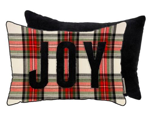 Plaid Joy Pillow