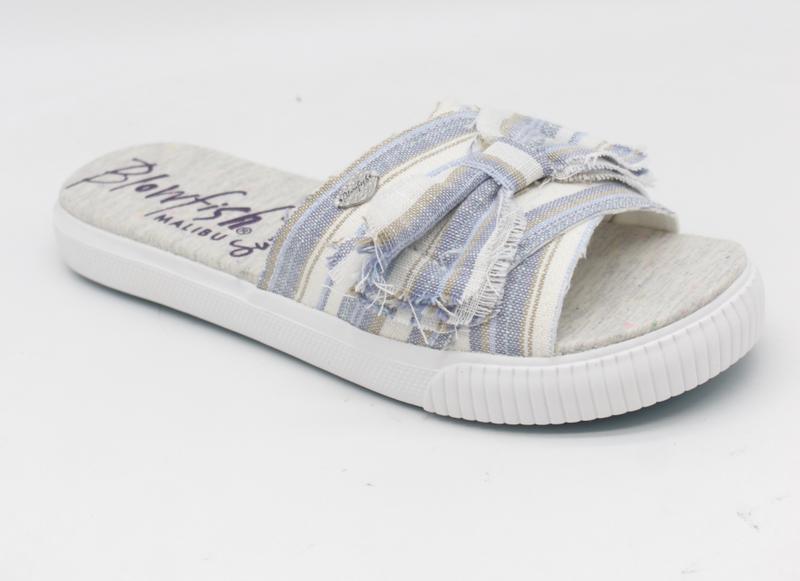 Blowfish Fondue Sandal Blue Linen