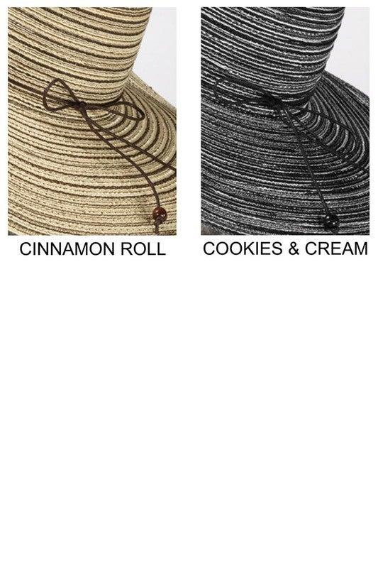 Stripe Sun Hat (two colors)