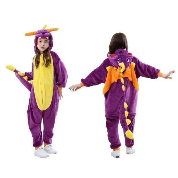 Kids Unisex Animal Onesies 5-8YO