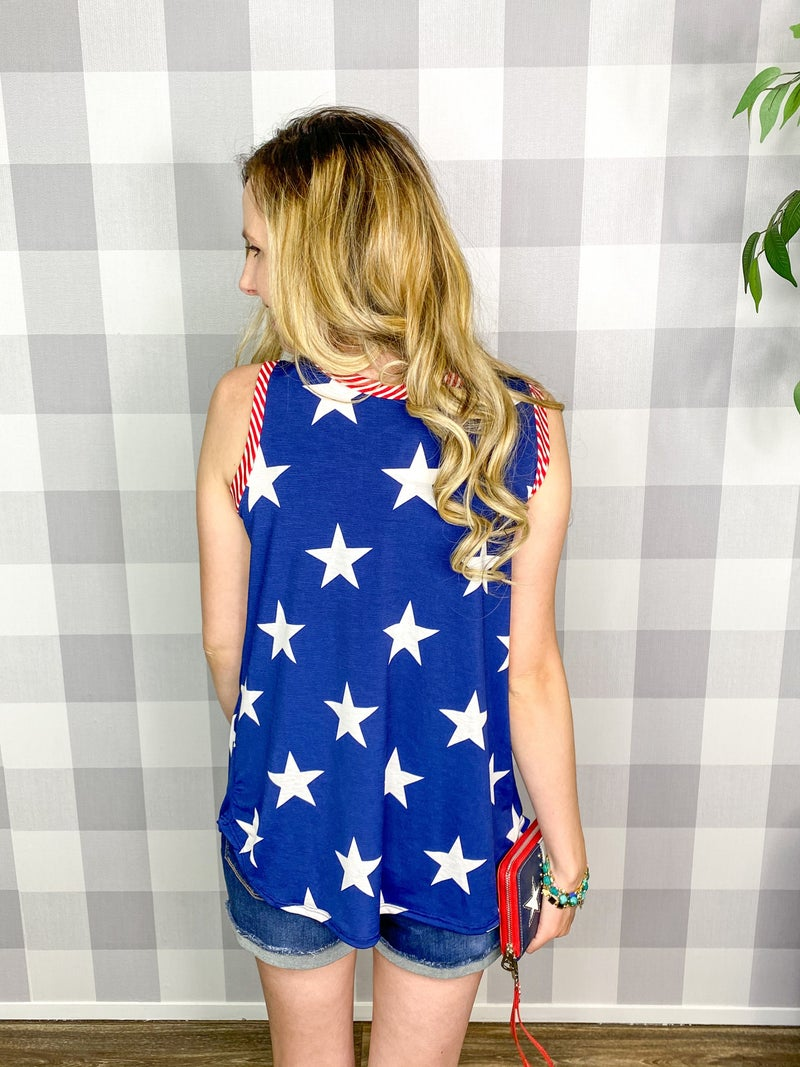 Land of the Free Tank Top