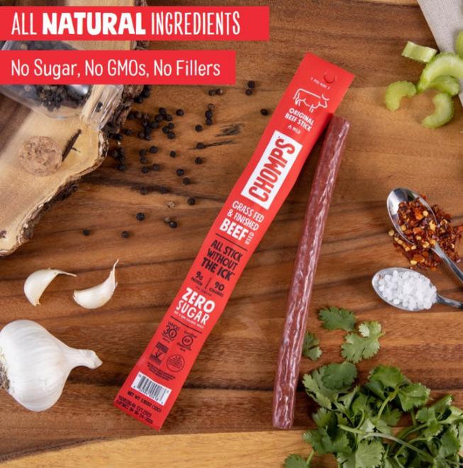 CHOMPS Snack Sticks (Whole30 Approved)
