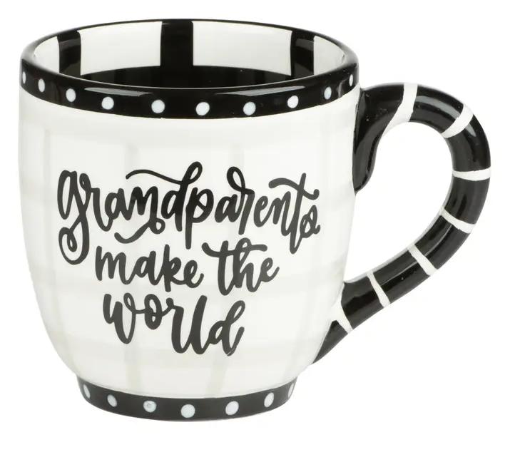 Jumbo Painted Mugs