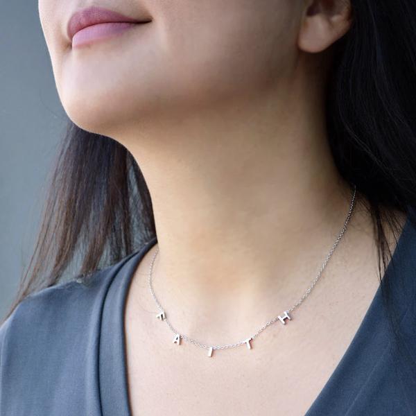 Hope/Faith/Life Necklace