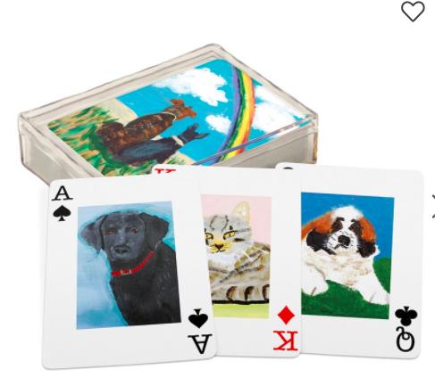 Pet Playing Cards