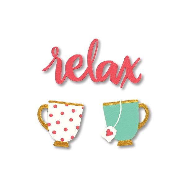 """Relax"" Tea S/3"