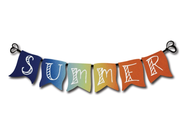 Summer Banner Magnet