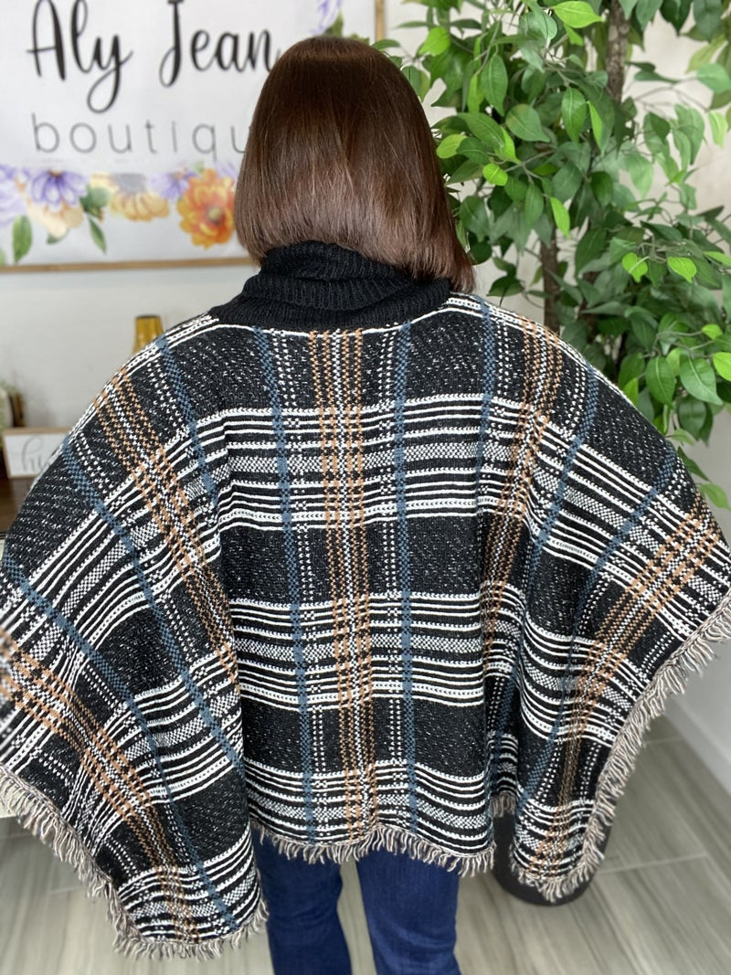 Got you Covered Turtle Neck Poncho