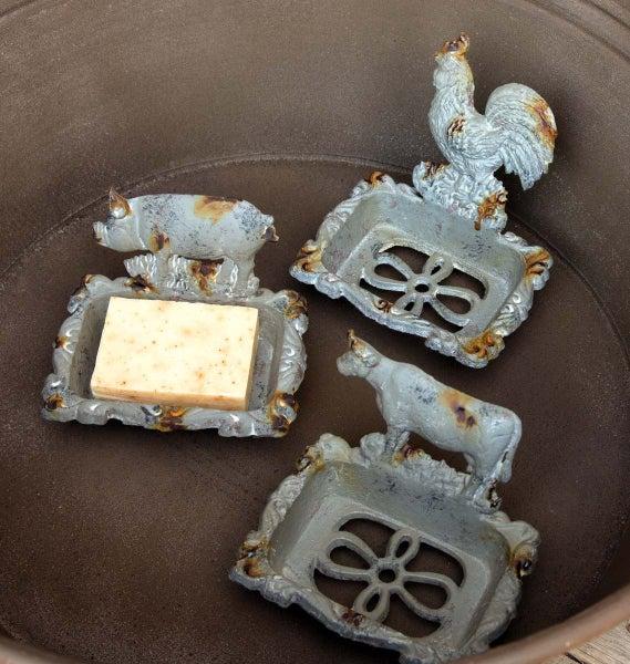 Cast Iron Soap Dish (3 Styles)