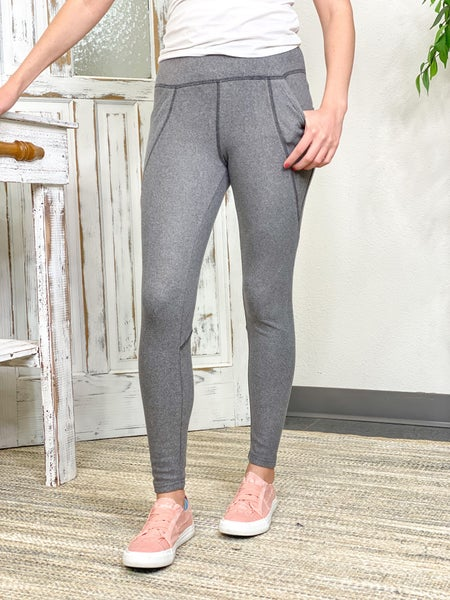 Soft Leggings With Pockets