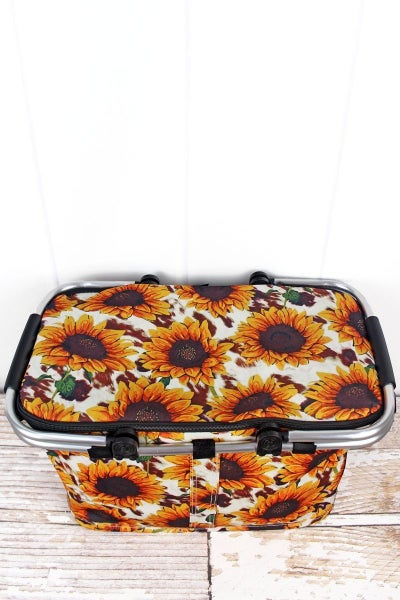 Collapsible Insulated Basket w/ Lid (variety styles)
