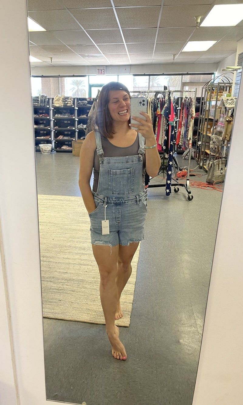 Judy Blue Overall Shorts