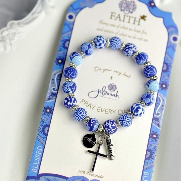 Faith Specialty Bracelet (Assorted Colors)