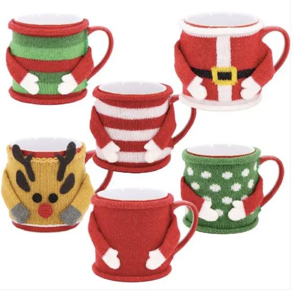 Holiday Themed Mug Sweaters