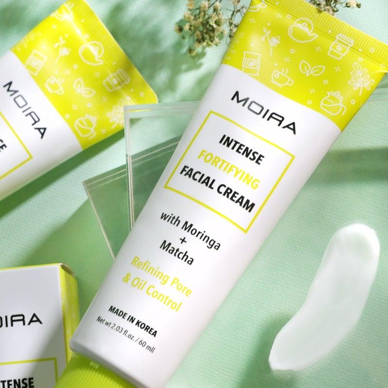 Intense fortifying Facial Cream with Moringa & Matcha