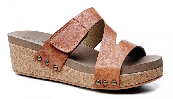 Corky's Cognac Zipadee Sandal