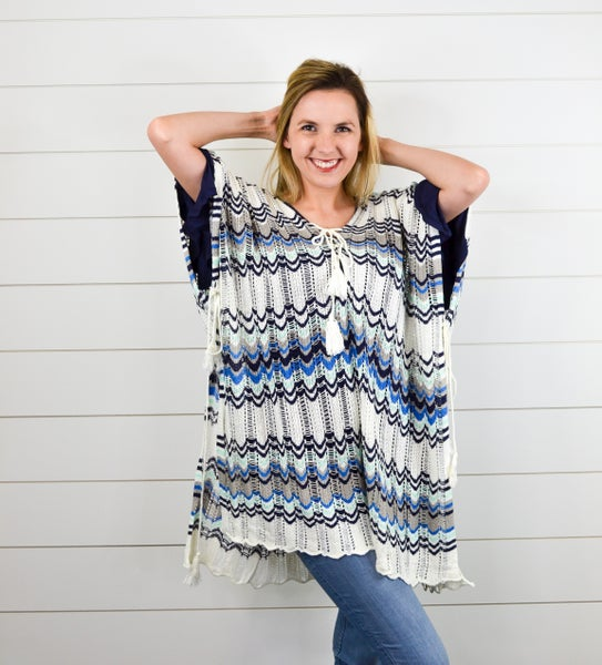What to Wear Knit Coverup