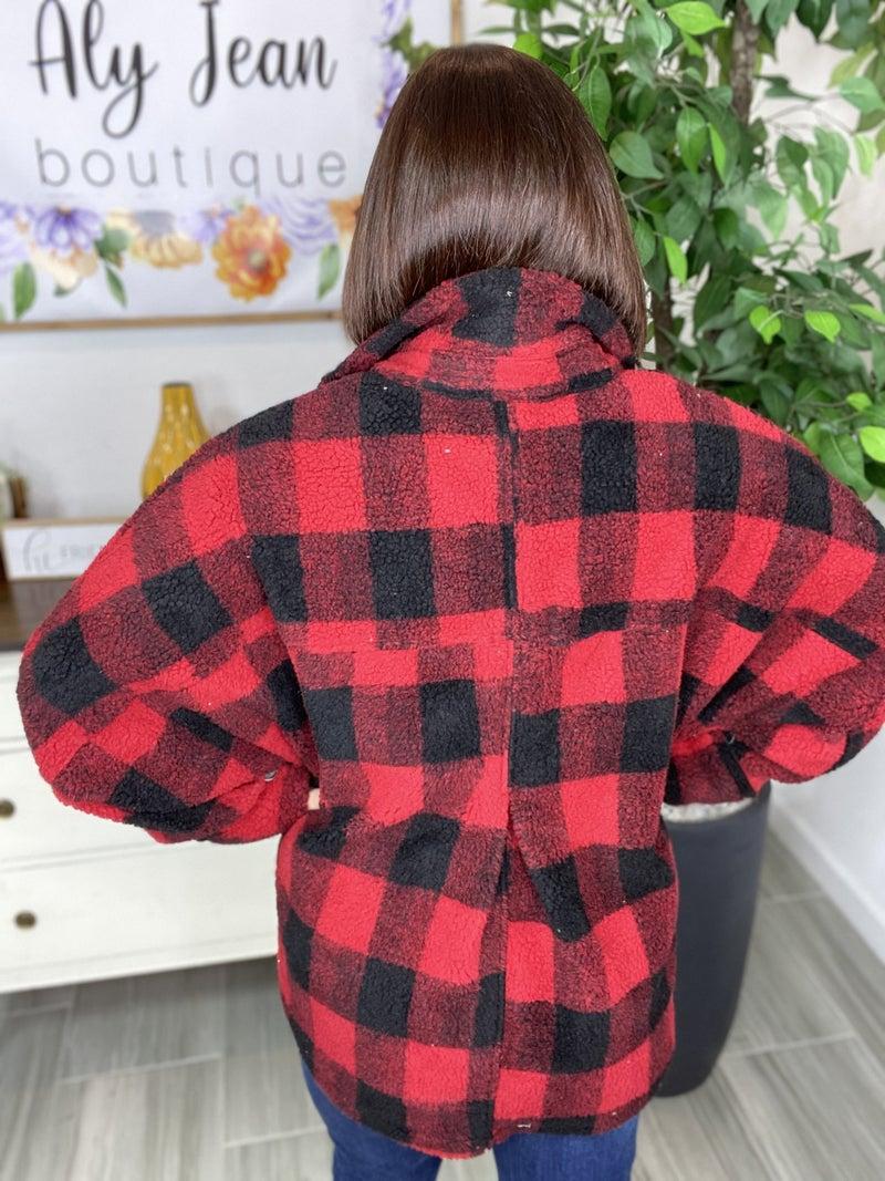 Lumber Jill Teddy Fur Jacket