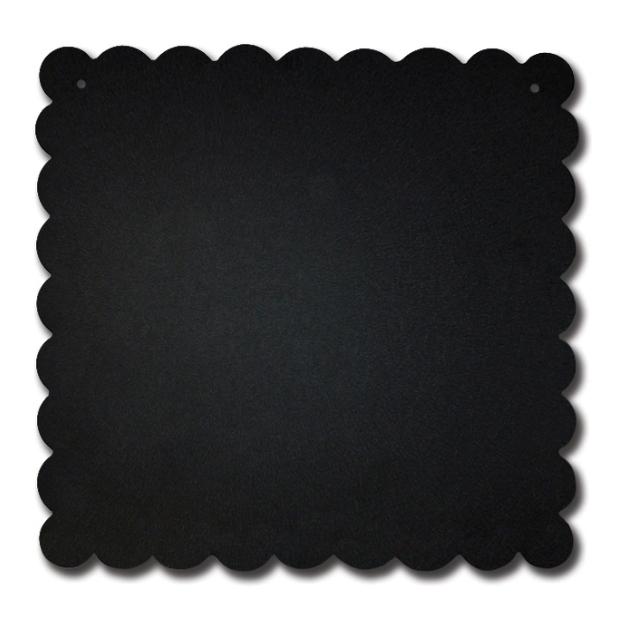 Scalloped Memo Board