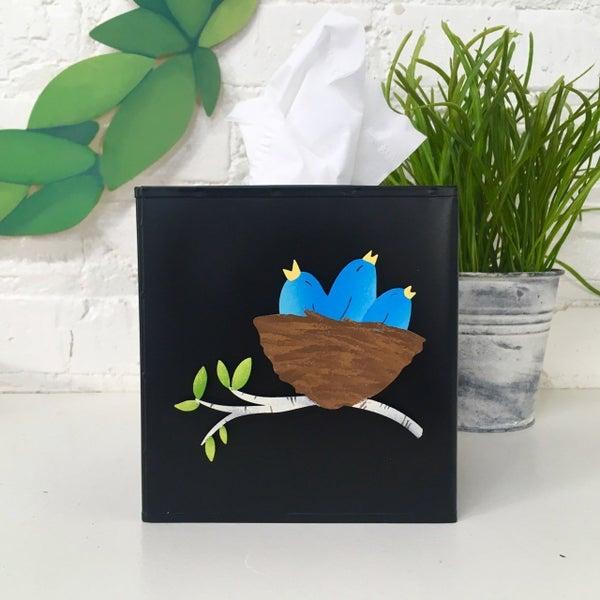 Birds in Nest Magnet
