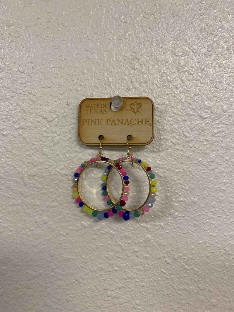 Summertime Hoop Earrings