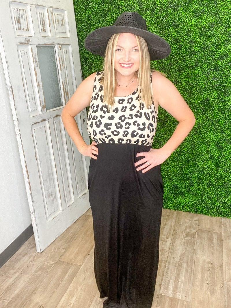 Safari Life Tank Maxi Dress