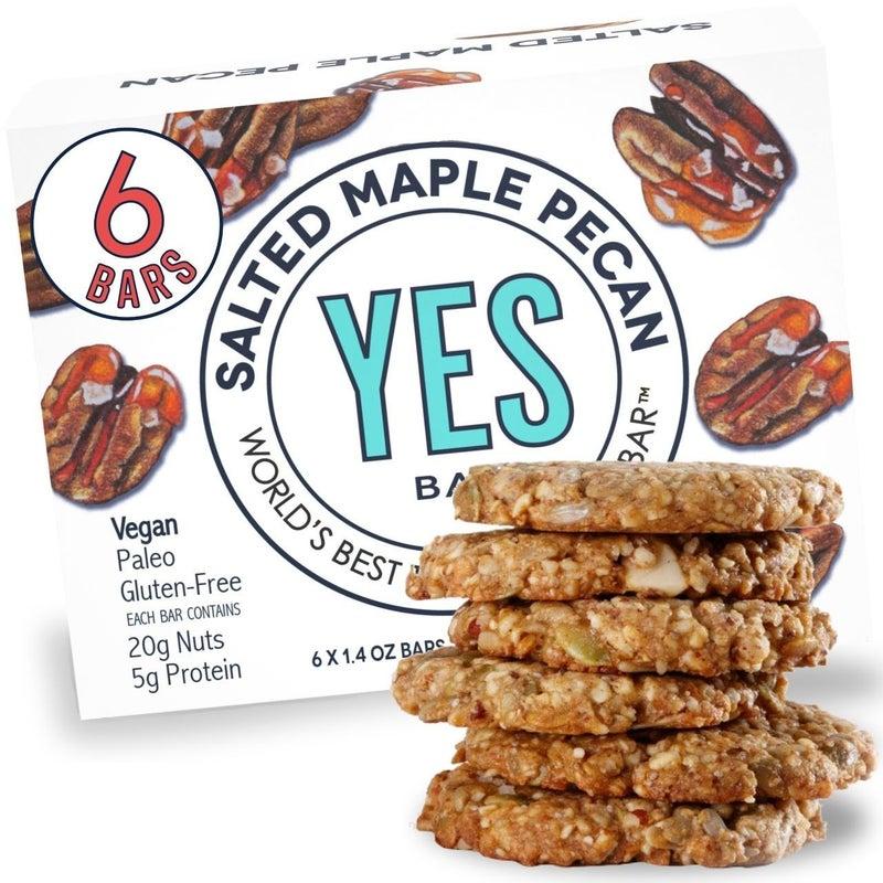 Yes Bar Premium Snack Bars (6 Flavors)
