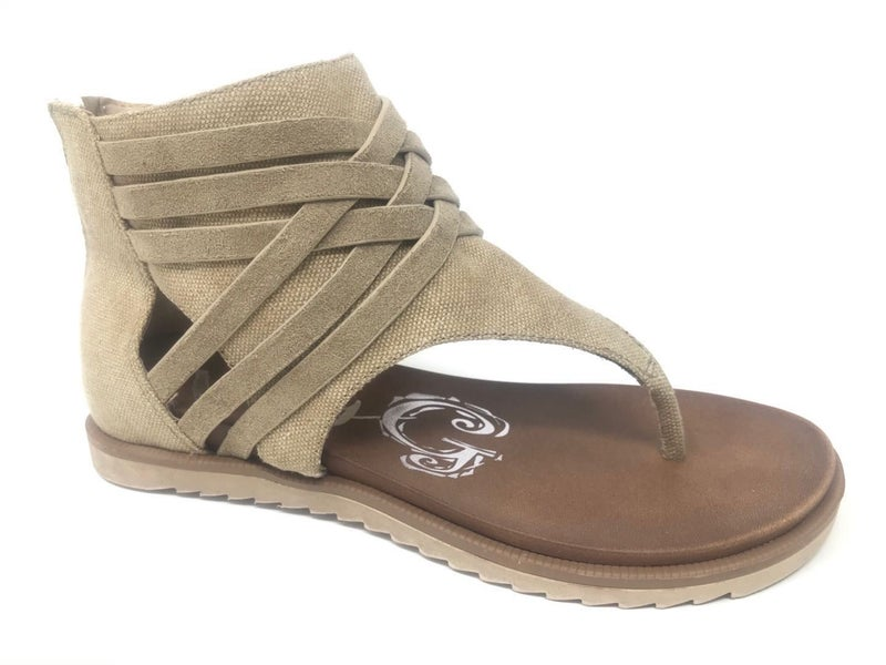 Tan Carly Sandals