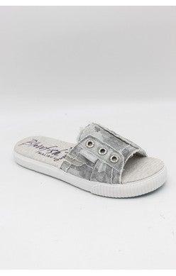 Fresco Gray Splatter Camo Sandal
