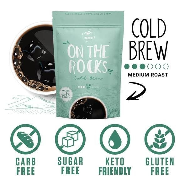 On The Rocks- Cold Brew Pouch Coffee