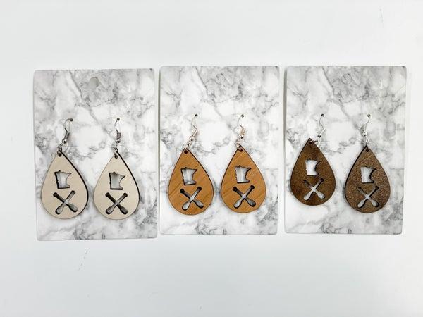 MN Dangle Earrings