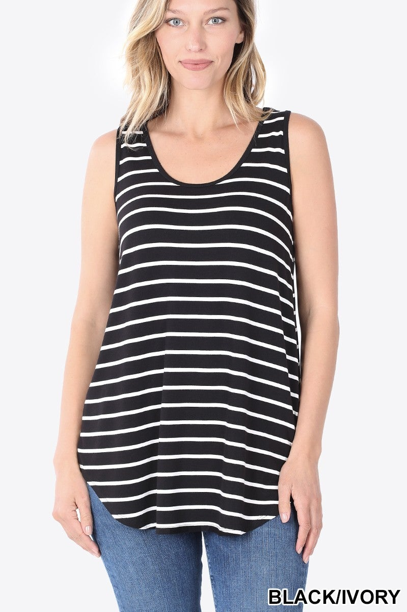 Striped Perfect Tank