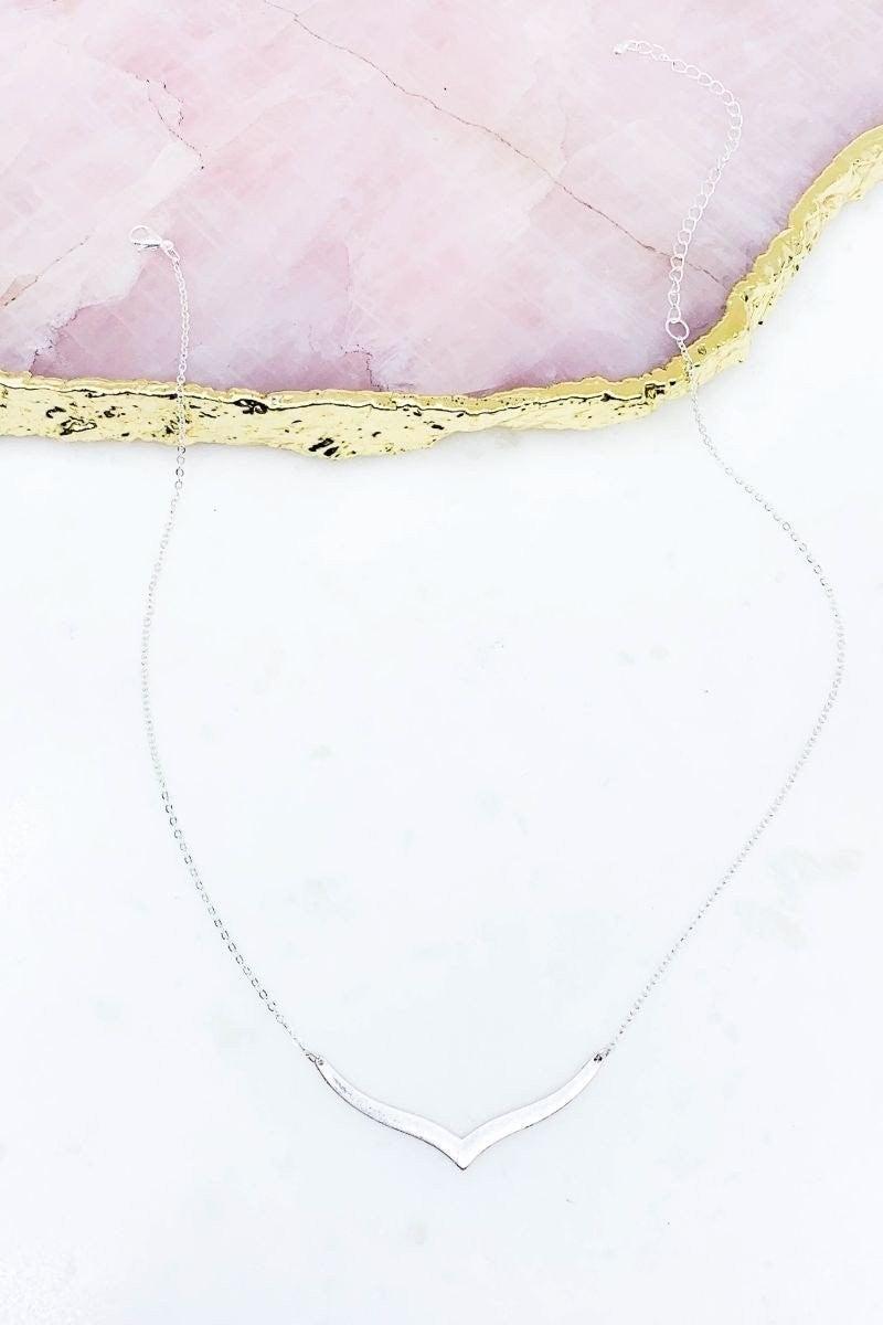 Worn Bar Necklace
