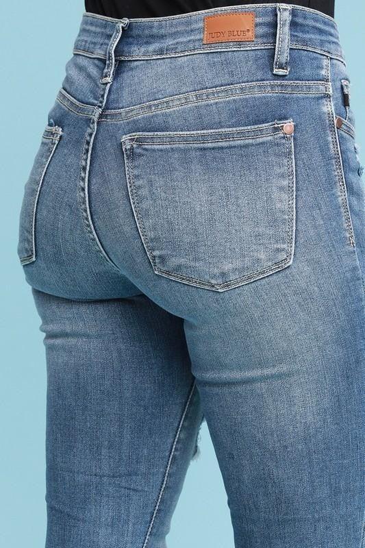 Judy Blue- Camoflauge Patch Skinny