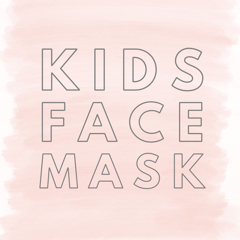 Kids Face Covering