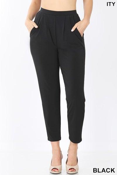 ITY Pleated waist pants