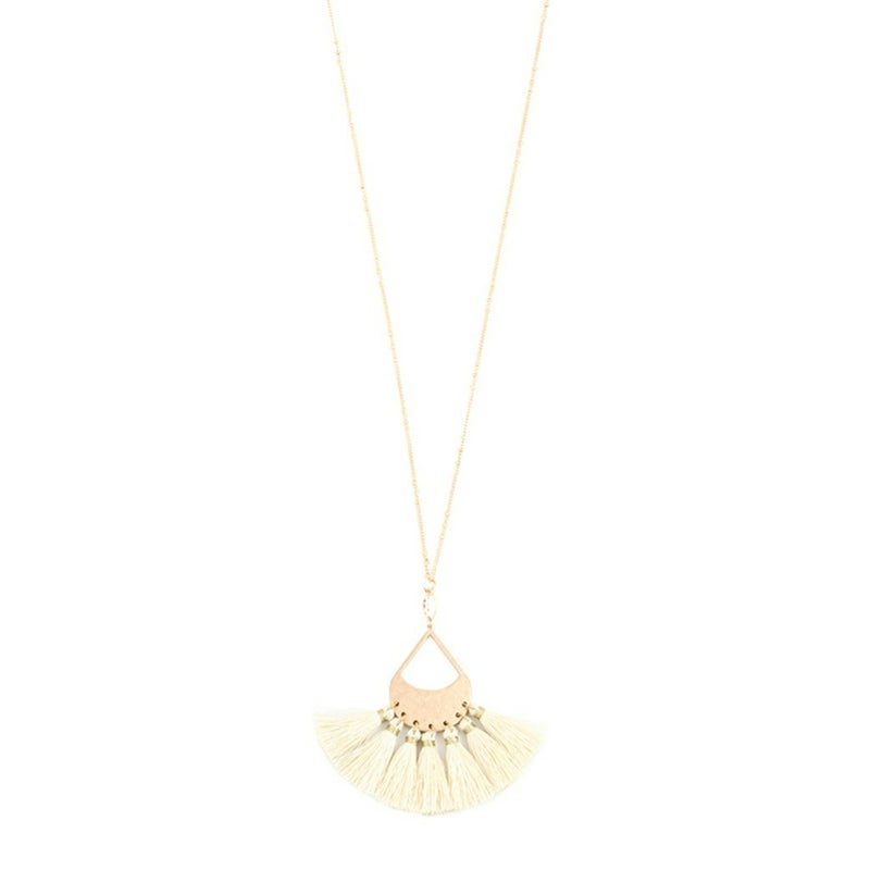Ivory Tassle necklace