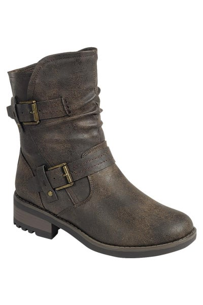 Double Buckle Boot
