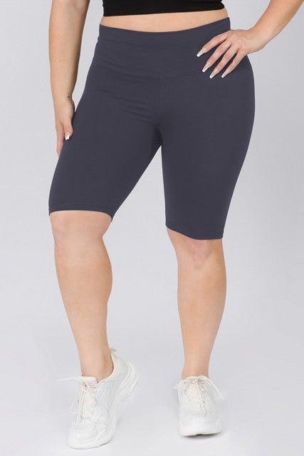 High-rise Buttery-Soft Biker shorts
